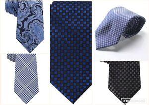 Sean John Silk Ties Assortment of Premium Silk Ties Variety of Colors & Style