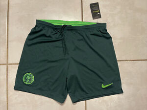 NWT NIKE Nigeria National Team Soccer Shorts Men's XL