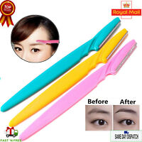 Ladies Shaver Eyebrow Razor Trimmer Shaper Hair Facial Remover New - Pack of 3