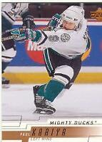 2000-01 Upper Deck Base Set Part 1 Hockey Cards Pick From List