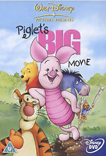 DVD:WINNIE THE POOH - PIGLETS BIG MOVIE - NEW Region 2 UK