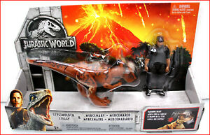 Jurassic World Story Pack Stygimoloch Dinosaur STIGGY & Mercenary Figure 🌟NEW🌟