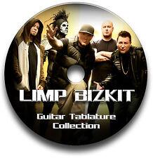 Limp Bizkit Nu Metal Rock Guitar Tab Tablature Song Book Anthology Software Cd