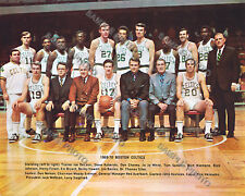 f20526f91 1969-1970 BOSTON CELTICS 8X10 TEAM PHOTO HAVLICEK WHITE NELSON AUERBACH  HEINSOHN
