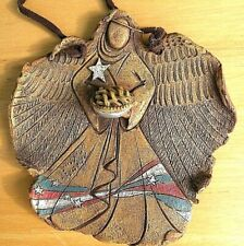 "Big Sky Carvers ""ANGEL With PIE"" 5"" ORNAMENT  Nature Fragments by Jane Beasley"