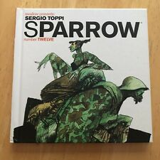 SPARROW Number Twelve 12 SERGIO TOPPI Art Book OOP RARE BEAUTY IDW