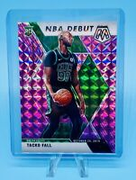 Tacko Fall 2019-20 Panini Mosaic # /49 NBA DEBUT PURPLE PRIZM RC HOBBY ONLY SSP!