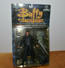 "VINTAGE BUFFY THE VAMPIRE SLAYER ANGEL ACTION FIGURE MOC 6"" MOORE COLLECTIBLES"