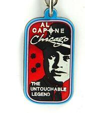 Al Capone The Untouchable Legend Keychain Multi Color Rubber