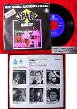 Single Sapce: Magic Fly (Hispavox 45-1565) Spanien 1977
