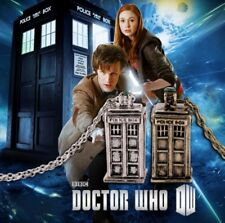 1Pcs/set Dr DOCTOR WHO TARDIS Ancient Silver/Bronze Necklace Doctor Who Movie