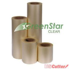 Clear Transfer/Application Tape High Tack Layflat GreenStar 15in x 300ft roll