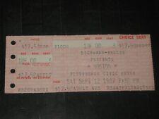 BOSTON 1987 CONCERT TICKET STUB**PITTSBURGH CIVIC ARENA**SEPTEMBER 12,1987*RARE*