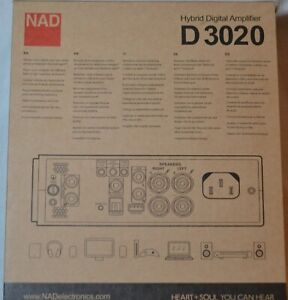NAD D3020V2 Hybrid Digital DAC Amplifier