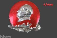 Insigne Chinois représentant Mao de profil