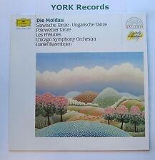 DG 415 851-1 - DIE MOLDAU - Various Composers BARENBOIM Chicago SO -Ex LP Record