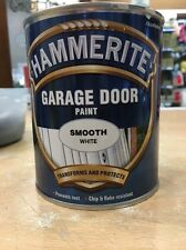 Hammerite Garage Door Gloss White Paint 750ml