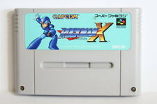 Rockman X Mega Man Label Wear SFC Super Famicom SNES Japan Import US Seller