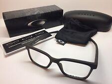 NIB Oakley Fenceline Satin Flint Frames Rx Eyeglasses OX8069-0753 W/Case 53/16