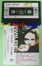 MC KIM WILDE Close 1988 turkish MCA 255588-4 no cd lp dvd vhs