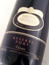 "2008 circa NV BROWN BROTHERS Reserve Tawny Port ""A"" ISLE OF WINE"
