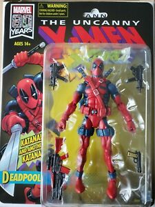 Marvel Legends Retro Deadpool, Uncanny X-men X-force