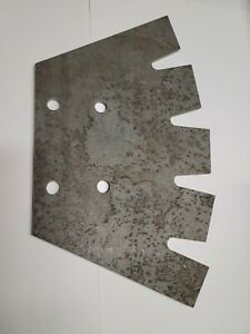 Manure Spreader paddle to fit H&S Manure Spreader Model 270, Square tooth