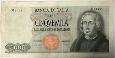 ITALIE - 5000 LIRE (1964) - Billet de banque (TB)