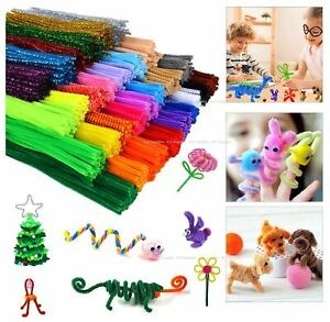 KnF Creative Childrens Kids Craft Chenille Stems Pipe Cleaners 30cm