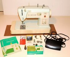 Singer Touch & Sew (417) Sewing Machine w/ Pedal, Case & Accessories ~ Runs Well