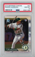 2019 Bowman Chrome Baseball #67 Ramon Laureano - Oakland A's RC - PSA 10