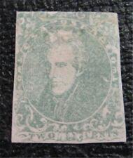 nystamps US CSA Confederate Stamp # 3 Mint OG H $900