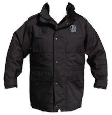 Ex Police Black 3/4 Goretex Waterproof Rain Coat Security Dog Handler Type 01