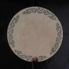 N2751 Céramique terre de fer plat TREVISE SFNGR LONGCHAMP XIXe PN France
