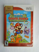 Super Paper Mario Nintendo Selects Game Complete! Nintendo Wii