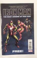 Comic Con 2018 handout MARVEl mini book TONY STARK The Many Armors of IRON MAN