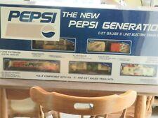 K-Line TE2000 Pepsi Mountain Dew Soda Diesel Engine Train Freight Set O Gauge