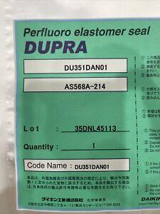New sealed,DUPRA Perfluoro Elastomer Seal, DU351DAN01, AS568A-214
