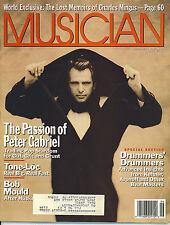 6/89 issue of MUSICIAN magazine  PETER GABRIEL cover  Bob Mould Tone-Loc