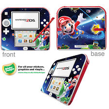 Super Mario Vinyl Skin Sticker for Nintendo 2DS