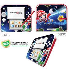 SUPER Mario Vinile Autoadesivo per Nintendo 2DS