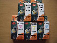 20x Canon Pixma con chip ip4850 mg5150 mg5250 mg6120 mg6150 ix6550 ix6520