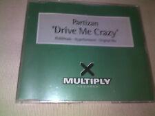 PARTIZAN - DRIVE ME CRAZY - HOUSE CD SINGLE