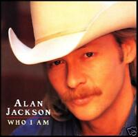 ALAN JACKSON - WHO I AM ~ COUNTRY CD w/BONUS Track *NEW*