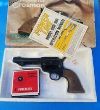 Vintage Crossman Model 44 Peacemaker .177 Caliber Pellet CO2 Revolver, w/BOX