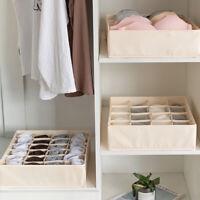 1Pcs Closet Organizer Box for Underwear Bra Socks Ties Scarves Storage Divider