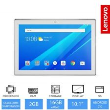 "Lenovo Tab 4- 10.1"" Cheapest Tablet 2GB RAM, 16GB, Android 7.0 Nougat - White"