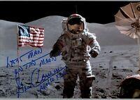 "20x24 cm - Repro-Autogramm EDWARD /""ED/"" WHITE EVA Gemini 4"