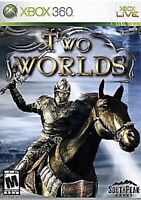 Two Worlds Xbox 360 Game 1  Rpg Fantasy Very Good Series