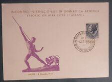 AREZZO - INTERNAZ. GINNASTICA ARTISTICA - 1954  NUM.